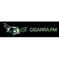 Logo de la radio Cigarra FM