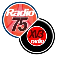 Logo of radio station Radio75 / Xv3radio