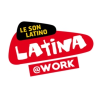 Logo of radio station LATINA @WORK