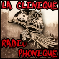 Logo of radio station La Clinique Radiophonique