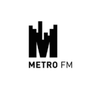 Logo of radio station Metro FM