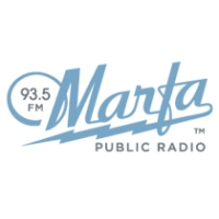 Logo of radio station KRTS Marfa Public Radio