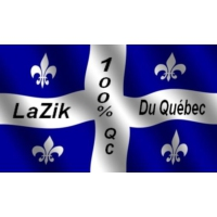 Logo of radio station LaZikDuQuebec
