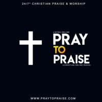 Logo of radio station Pray To Praise Christian Radio