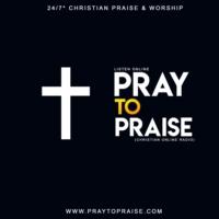Logo of radio station Pray To Praise Christian Radio