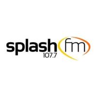 Logo of radio station Splash FM 107.7