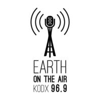 Logo of radio station KODX 96.9