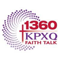Logo of radio station KPXQ 1360