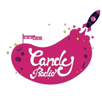 Logo of radio station Candy Radio(硬糖电台)