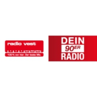 Logo of radio station Radio Vest – Dein 90er Radio