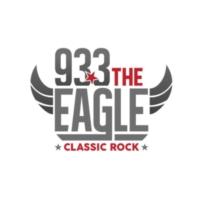 Logo of radio station KAGL 93.3 The Eagle