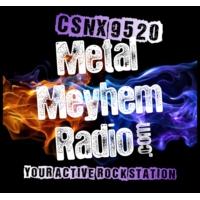 Logo of radio station CSNX-9520: Metal Meyhem Radio