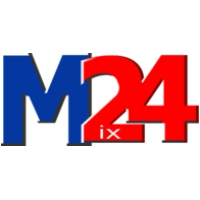 Logo of radio station Mix 24 FM