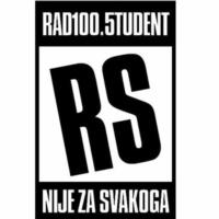 Logo of radio station Radio Student 100.5