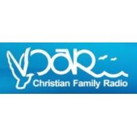 Logo of radio station VOAR