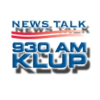 Logo of radio station KLUP News Talk