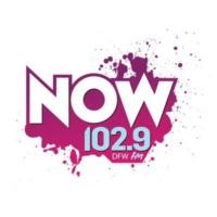 Logo of radio station KDMX 102.9 NOW