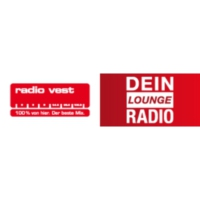 Logo of radio station Radio Vest – Dein Lounge Radio