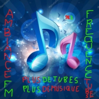Logo of radio station Ambiance fm frequence tubes