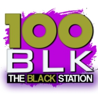Logo of radio station 100 BLK