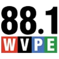 Logo of radio station WVPE NPR 88.1