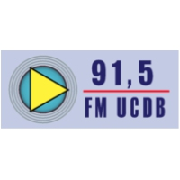 Logo of radio station UCDB 91.5 FM