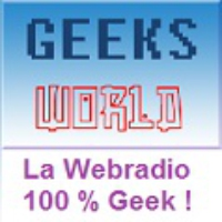 Logo de la radio Geeks World
