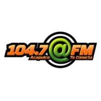 Logo de la radio @FM 104.7 FM