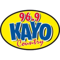 Logo of radio station 96.9 KAYO