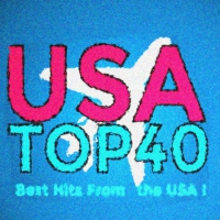 Logo of radio station usa top40