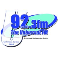Logo of radio station KSJO The Universal FM