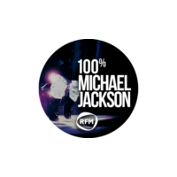 Logo of radio station RFM 100% Michael Jackson