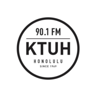 Logo of radio station KTUH 90.1 FM