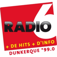 Logo of radio station Radio 6 - Dunkerque