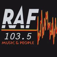 Logo of radio station RAF 103e5
