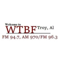 Logo of radio station WTBF-AM