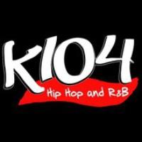 Logo of radio station KKDA K104