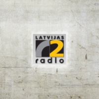 Logo of radio station Radio Latvia Two