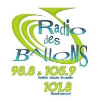 Logo of radio station Radio des Ballons 98.8 & 105.9