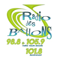 Logo of radio station Radio des Ballons 101.8