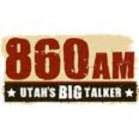 Logo of radio station KKAT 860