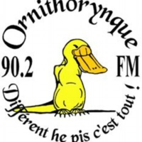 Logo of radio station Ornithorynque