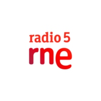 Logo of radio station RNE Ràdio 5