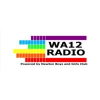 Logo of radio station WA12Radio