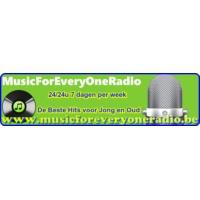 Logo of radio station musicforeveryoneradio