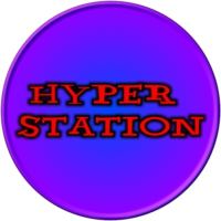 Logo of radio station HYPERSTATION
