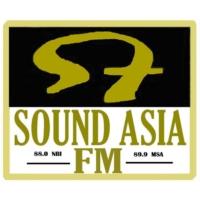 Logo of radio station Sound Asia FM