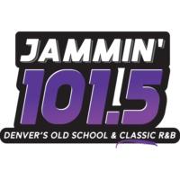 Logo of radio station KJHM Jammin' 101.5