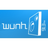 Logo of radio station WUNH