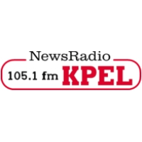 Logo of radio station KPEL News Talk 105.1 FM
